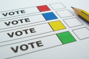 picture of ballot paper